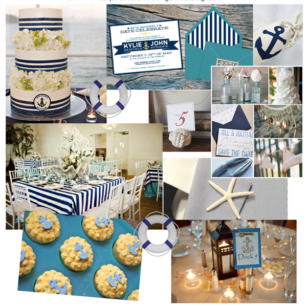 Nautical Wedding Ideas Pictures: Hoist The Sails! A Nautical Wedding Can Be A SPLASH