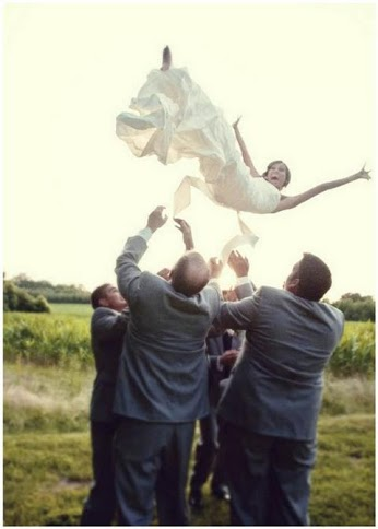 Would you let your groomsmen do this to you?