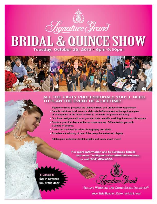 Signature Grand's Bridal & Quince Show