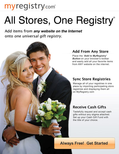All Stores! One Registry!