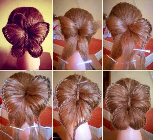 DIY Butterfly Up-do!