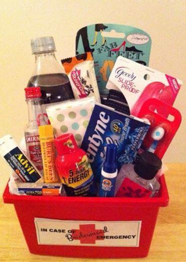 Bridesmaids Survival Kit!